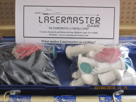 Lasermaster Game Set Open Box